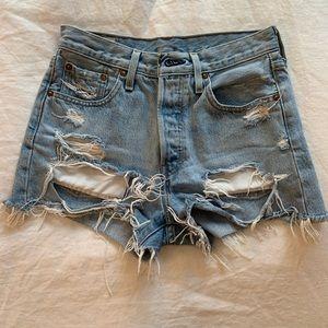 Levi's Jean shorts size 24